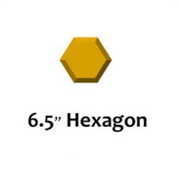 GR Pottery Forms Hexagon